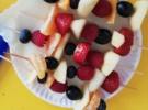Owocowe szaszłyki w klasach 1-3